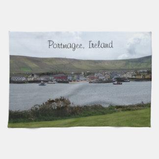 Irländsk landskapPortmagee Irland kökshandduk
