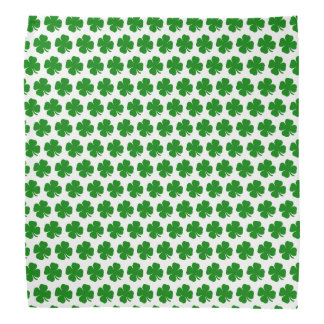 Irländsk lycklig grön shamrock bandana