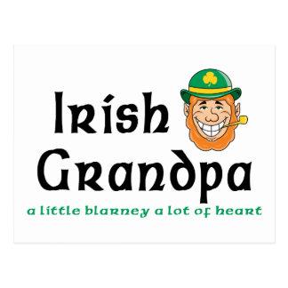 Irländsk morfargåva vykort