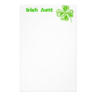 Irländsk mosterbrevpapper brevpapper