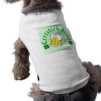 Irländsk öl 2gradient för auktoriserad husdjurströja