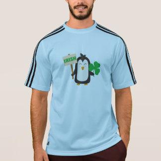 Irländsk pingvin med shamrocken Zjib4 Tröjor