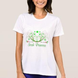 Irländsk Princess Önska Shamrocks Dam T-tröja T-shirts
