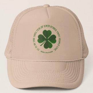 Irländsk Proverb Truckerkeps