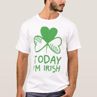 Irländsk rolig st patricks day tee shirt