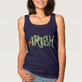 irländsk rolig t-skjorta för hashtag linne
