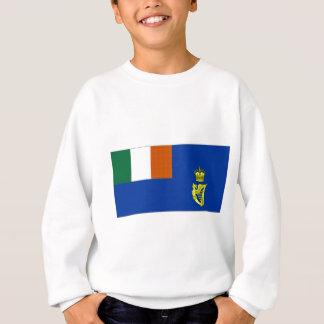Irländsk seglingflagga tshirts