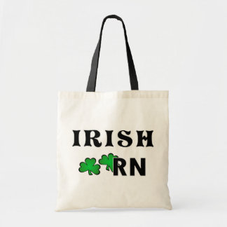 Irländsk sjuksköterska RN Budget Tygkasse