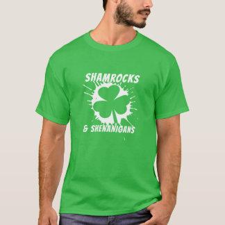 Irländsk st patricks dayShamrockvit Tröja