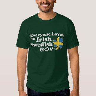 Irländsk svensk pojke tröja