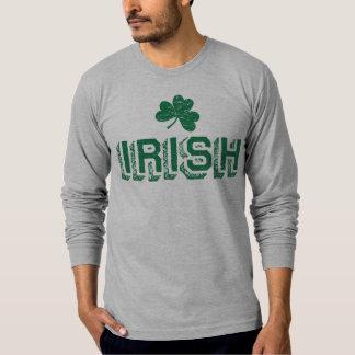 Irländsk vintageskjorta t shirts