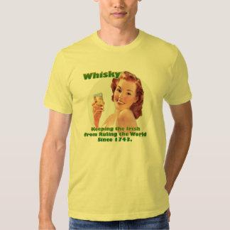 Irländsk WhiskyT-tröja Tee Shirt