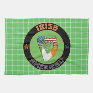Irländska harpakökshanddukar för amerikan kökshandduk