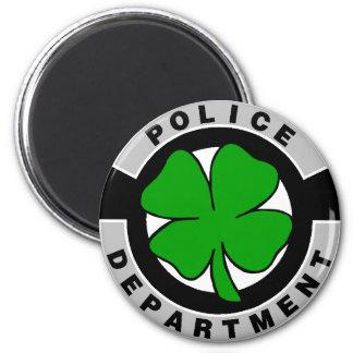 Irländska polisar magnet