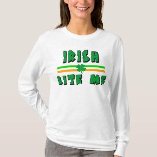 Irländskt bita mig T-tröja Tee