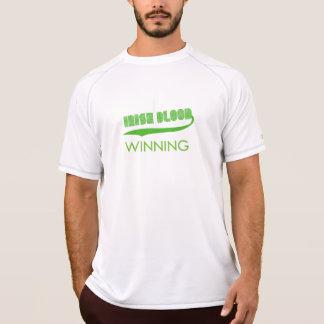 Irländskt blod som segrar gröna T-tröja för GRN T-shirt