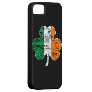 Irländskt fodral för iPhone 5 för flaggaShamrock iPhone 5 Hud