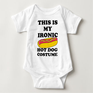 Ironisk varmkorvdräkt t shirts