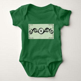 IRONWORK SCROLLWORK 1 för babyJersey Bodysuit Tee Shirt