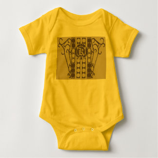 IRONWORK SCROLLWORK 2 för babyJersey Bodysuit Tee Shirt