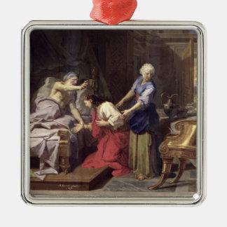 Isaac som välsignar Jacob, 1692 Julgransprydnad Metall
