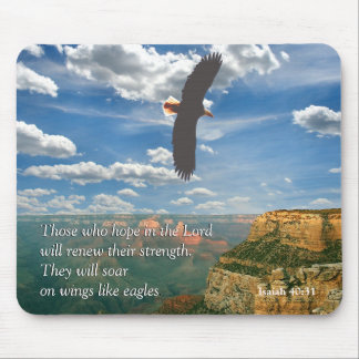 Isaiah 40:31Scripture Mousepad Musmatta