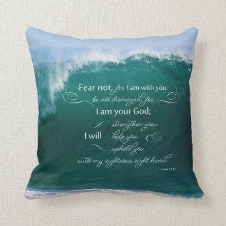 Isaiah 41 versen för 10 bibel kudder kudde