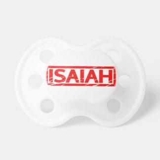 Isaiah frimärke napp