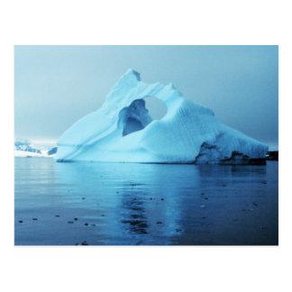 Isberg i Antarktis Vykort