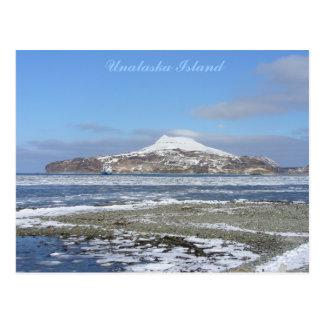 Isberg i kapten fjärd, Unalaska ö Vykort