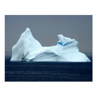 Isberg i Newfoundland Vykort