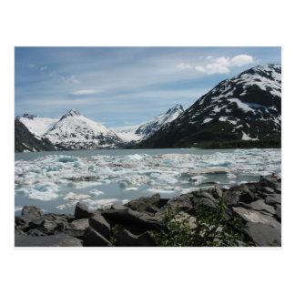 Isberg på glaciärfjärden i Alaska Vykort