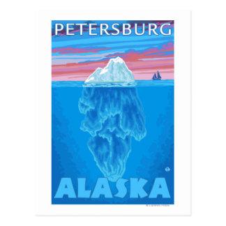 Isbergtvärsnitt - Petersburg, Alaska Vykort