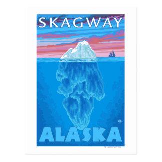 Isbergtvärsnitt - Skagway, Alaska Vykort
