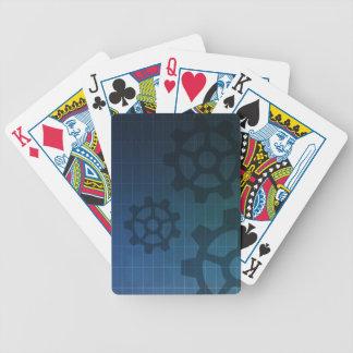 Iscensätta leka kort spelkort