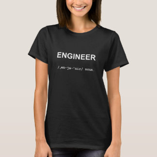 ISCENSÄTTA med kvinna för Phonetic symboler T Shirts