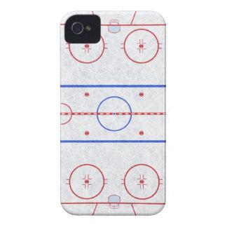 Ishockeyisbana iPhone 4 Case-Mate Fodral