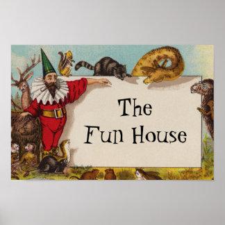 Isidore älvan & hans extra små affisch för djur