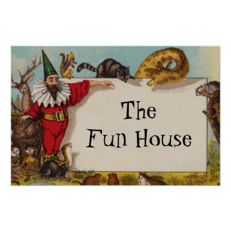 Isidore älvan & hans små affisch för djur