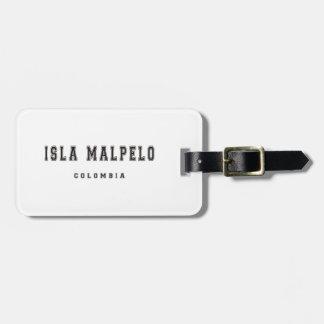 Isla Malpelo Colombia Lappar För Bagaget