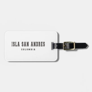 Isla San Andres Colombia Bagageetiketter