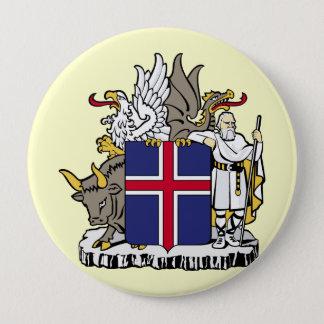 Island island stor knapp rund 10.2 cm