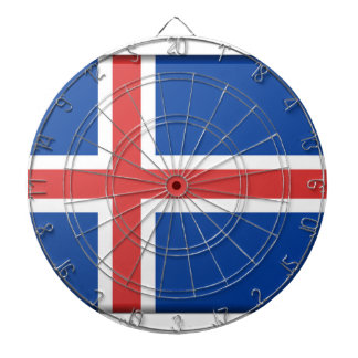 Islandflagga Darttavla