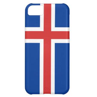 Islandflagga iPhone 5C Fodral