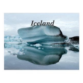 Islandglaciärer Vykort