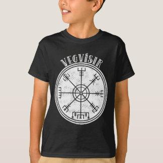 Isländsk Magical notsystem för VEGVISIR T Shirts
