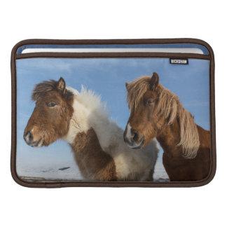 Isländska hästar sleeve för MacBook air