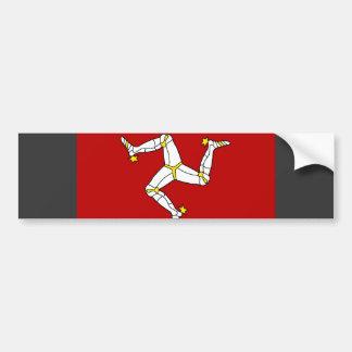 Isle av manflagga bildekal