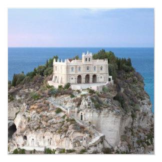 Isola Bella Tropea Fyrkantigt 13,3 Cm Inbjudningskort