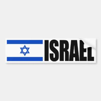 Israel flagga bildekal